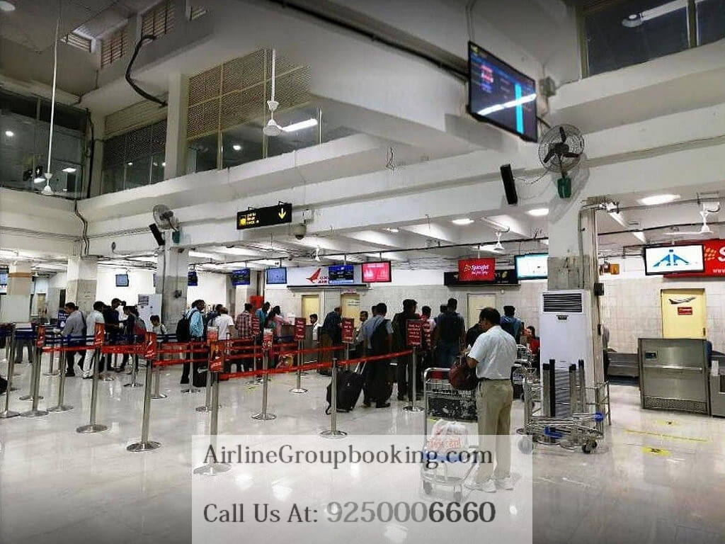 Airport of bagdogra by airline group booking