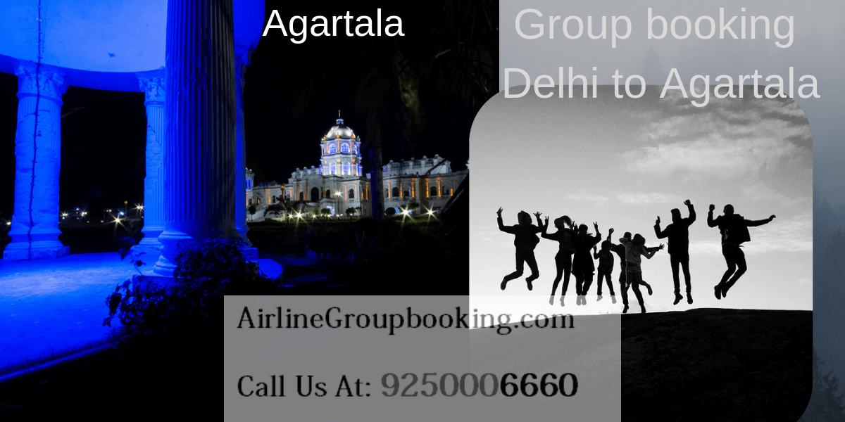 Spicejet Delhi to Agartala Group Booking