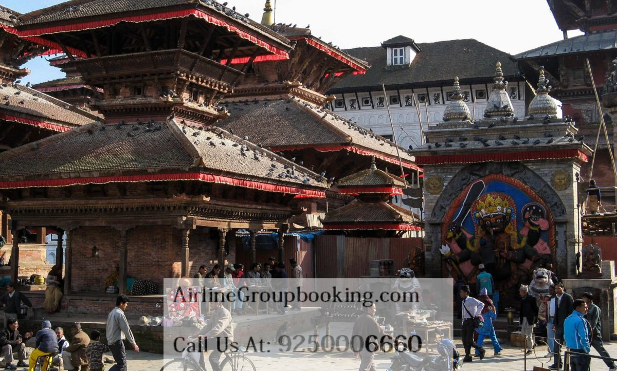 kathmandu image by airline group booking